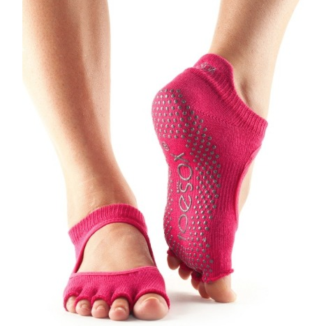 ToeSox Bellarina Half Toe Grip Socks - Studio To Street Boutique