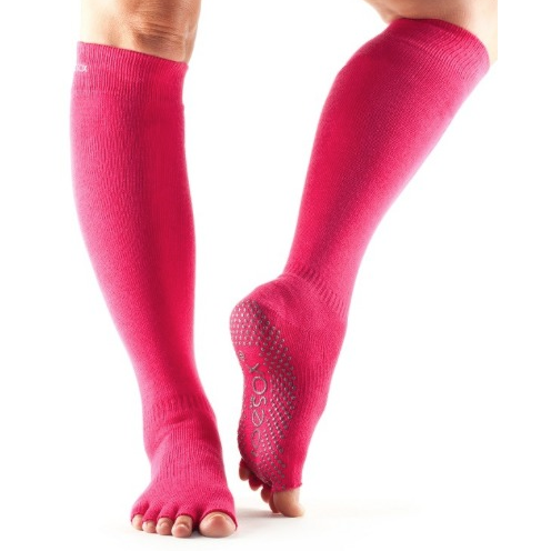 ToeSox Half Toe Scrunch Knee High Grip Socks - Studio To Street Boutique