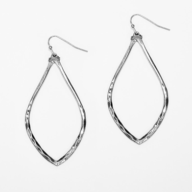 Silver Teardrop Earrings - Studio To Street Boutique