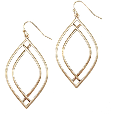 Double Pointed Earrings - Studio To Street Boutique