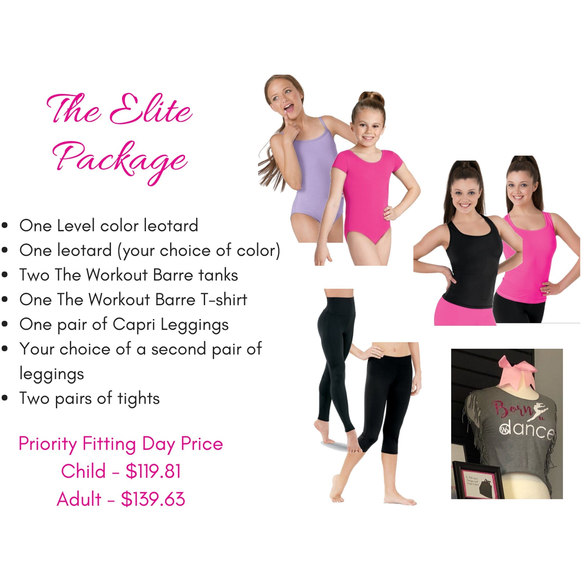The Elite Package- Adult - Studio To Street Boutique