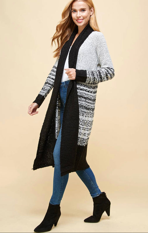 Earn Your Stripes Cardigan