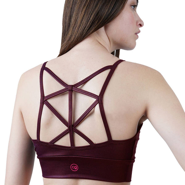 Strappy Sports Bra Lustrous Collection