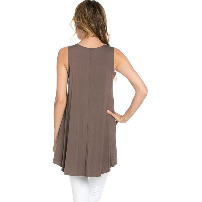 Avelind Sleeveless Tunic - Studio To Street Boutique