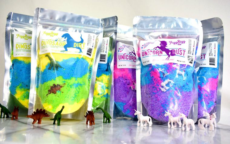 Dinosaur Dirt - Kids Bath Salts