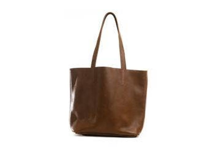 Dottie Leather Tote Bag
