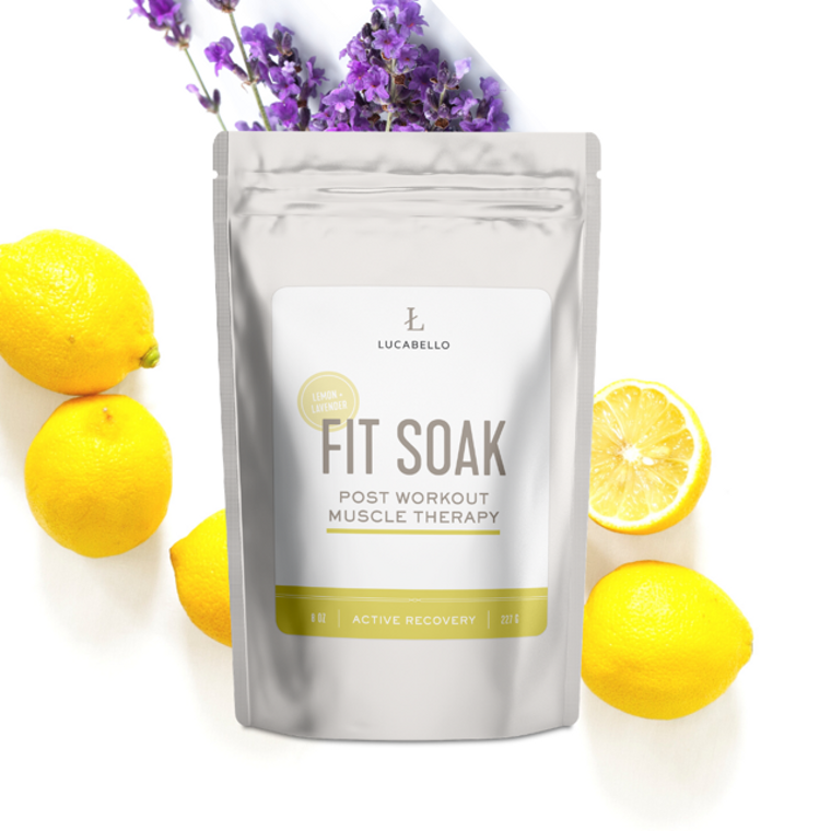 Fit Soak Lemon Lavender Bath Salt