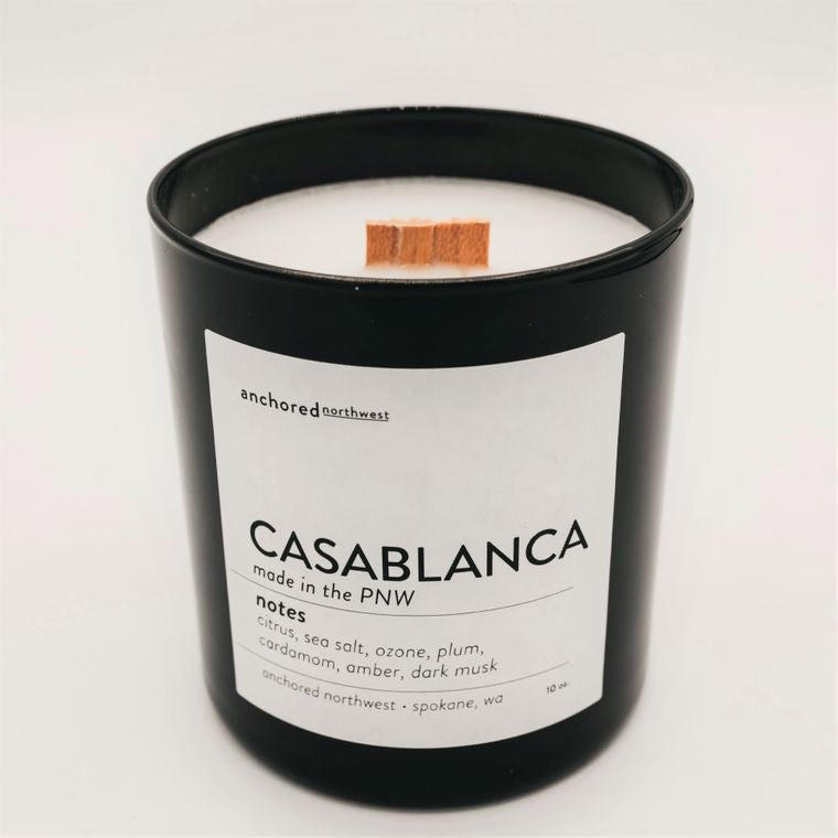 Casablanca - Black Tumbler w/ cover