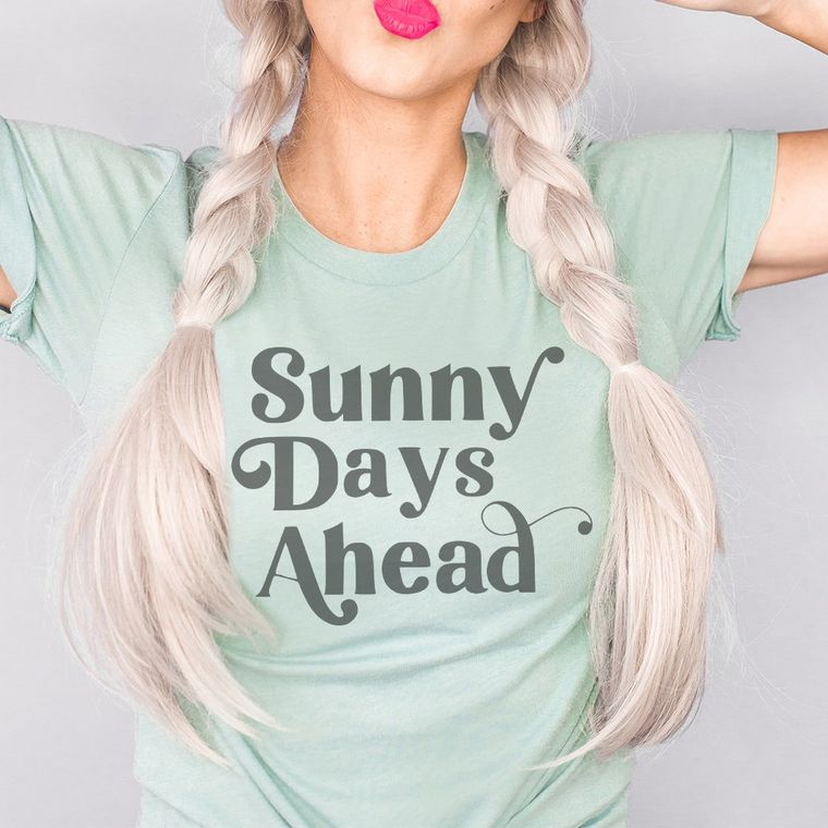 Sunny Days Ahead Graphic T-Shirt