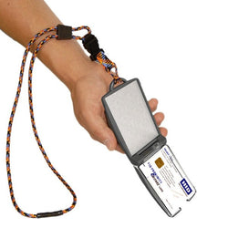 EK USA® FIPS 201 One Hander Card Holder w/ Detachable Lanyard