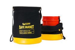 Safe Bucket 100lb Load Rated Hook And Loop Canvas- 5 Gallon