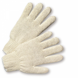 Standard String Knit Poly/Cotton Gloves