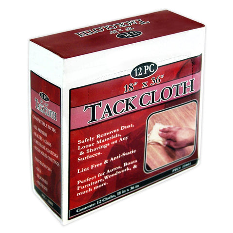 White DeRoyal Tack Cloth