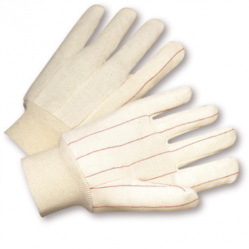 Nap in Quilted Cotton Double-Palm Gloves