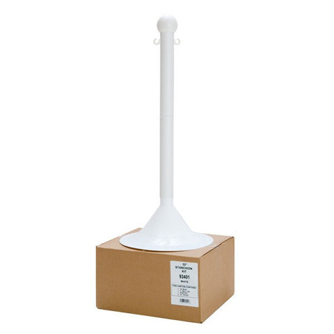 "2"" Plastic Shipper Friendly Stanchion (41"" Height)"