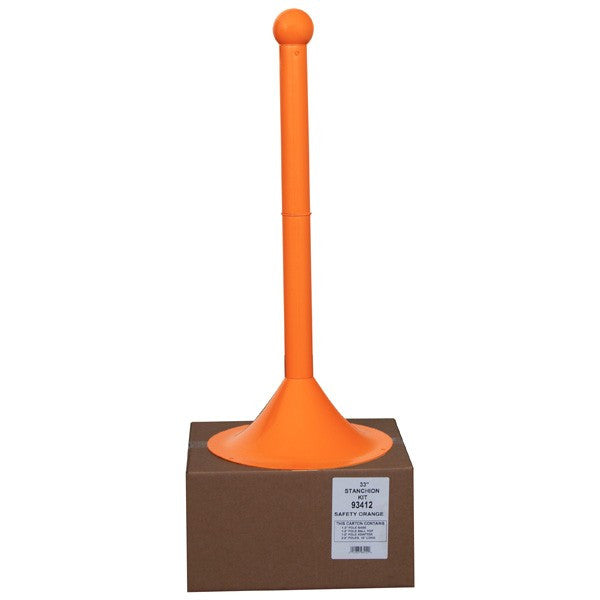 "2.5"" Plastic Shipper Friendly Stanchion (40"" Height)"