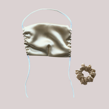 AVAILABLE NOW! Silk Mask + Scrunchie Gift Set