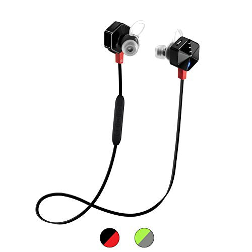 FIIL Carat in The Ear Active Sport Earphones Headphones- Black/Red