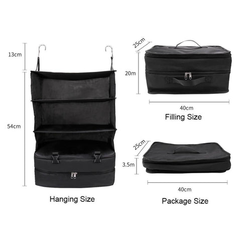 Image of 3 Layer Wardrobe Travel Bag - trendyholo.com
