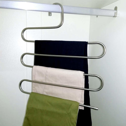 Image of 5 Layers pants organizer hanger - trendyholo.com