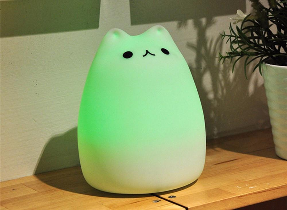 Cat LED Night Light - trendyholo.com