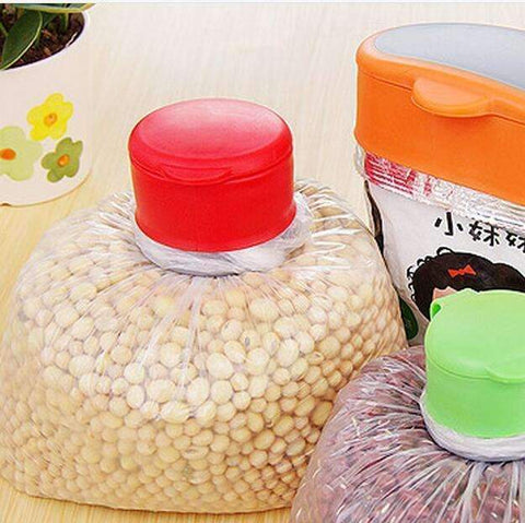 Airtight Sealer Reusable Plastic Bag Cap - trendyholo.com