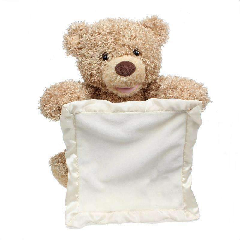 Peek a Boo Teddy Bear Toy 70% OFF - trendyholo.com