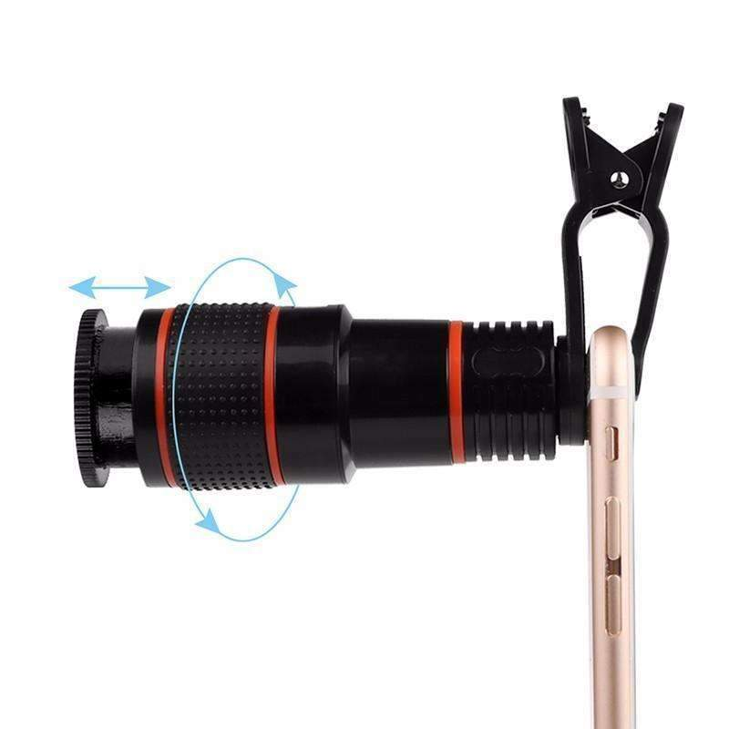 4K 12X ZOOM LENS TELESCOPE IN YOUR POCKET - trendyholo.com