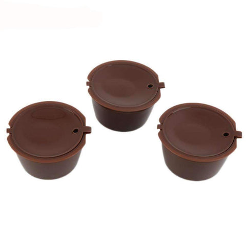 Image of Reusable Compatible Rechargeable Plastic Coffee Filter Baskets - trendyholo.com