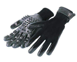 Pet Grooming Gloves for Cats, Dogs & Horses - 1 Pair - trendyholo.com