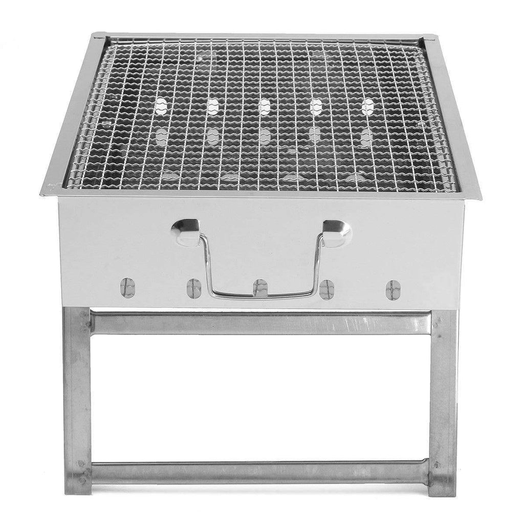 Portable Stainless Steel Charcoal Outdoor Grill - trendyholo.com