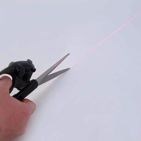 Image of Straight Fast Laser Guided Scissors Sewing Laser Scissors Cuts - trendyholo.com