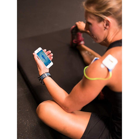 ACCURELIEF™ WIRELESS PAIN RELIEF DEVICE WITH REMOTE AND MOBILE APP