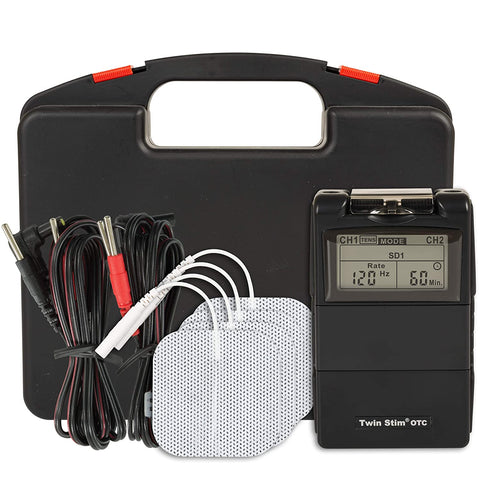 TWIN STIM TENS UNIT AND EMS MUSCLE STIMULATOR