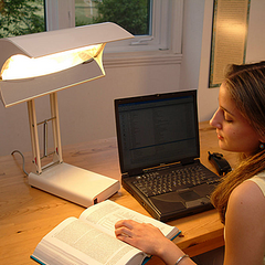 SADelite Light Therapy Desk Lamp