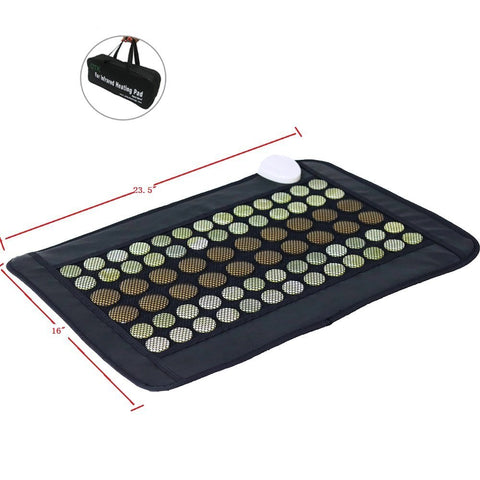 UTK Far Infrared Natural Jade & Tourmaline Heating Pad