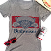 Budweiser Women's Grey Label Tee