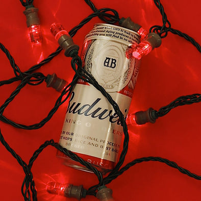 Budweiser Red Light Holiday Lights