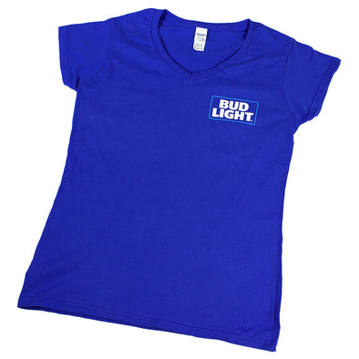 Bud Light Women's Tee (Medium)