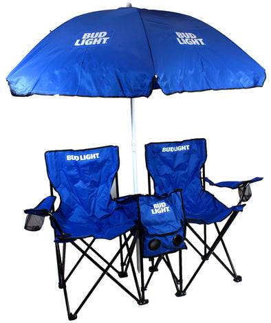 Bud Light Double Folding Chair