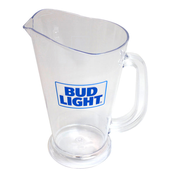 Bud Light Clear Pitcher