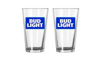 Bud Light 16 oz. Glassware Set