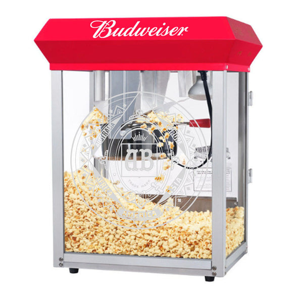 Budweiser Tabletop Popcorn Machine