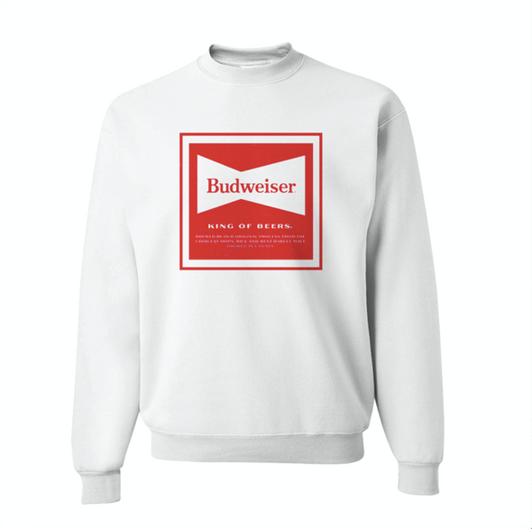 Budweiser Blast-From-The-Past Sweatshirt