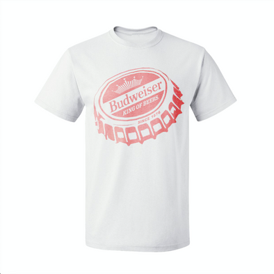 Budweiser Bottle Top T-Shirt