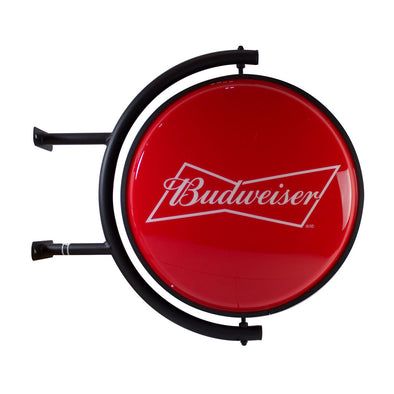 Budweiser Rotating Globe Sign