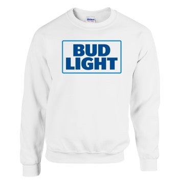 Bud Light White Sweater
