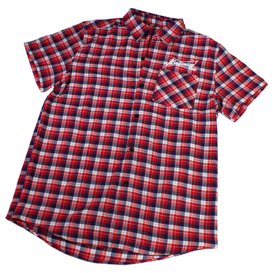 Budweiser Plaid Shirt