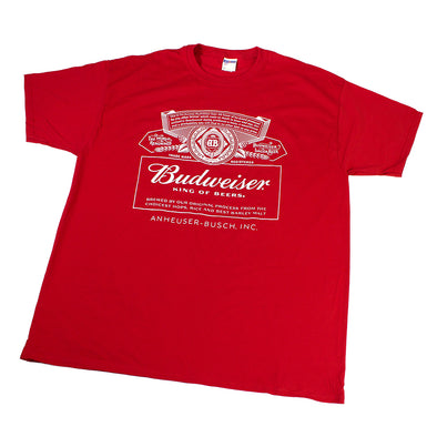 Budweiser Red King of Beers t-shirt