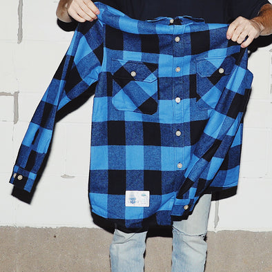 BUD LIGHT BODY COOZIE FLANNEL SHIRT